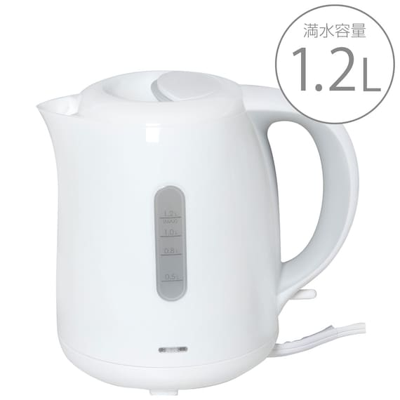 RoomClip商品情報 - 電気ケトル ラマーレ 3(SN-3228WH) ニトリ